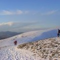 Col between Helvellyn and Helvellyn Lower Man