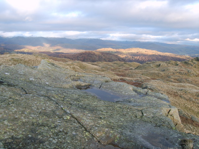 Long Crag - Yewdale Fells - Cumbria