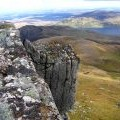 Ben Loyal Summit, An Caisteal - Looking ENE