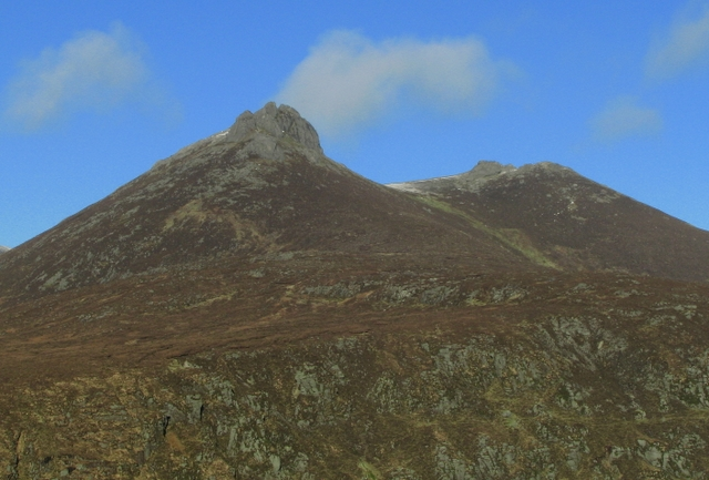 Slieve Bearnagh - Newry, Mourne and Down