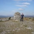 Whitbarrow Scar - summit cairn