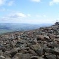 From the side of the cairn on Tinto Hill