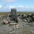 Trig Pillar on Black Coombe
