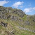 On Silverybield Crag