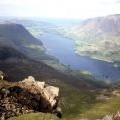 Crummock Water from the summit of Red Pike