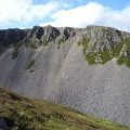 Scree slopes on Stac na h-Iolaire