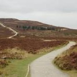 Path to Moel Famau