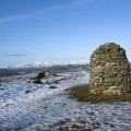 Summit cairn at Lords Seat