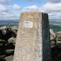 Trig pillar on Tosson Hill