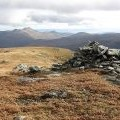 The summit, Meall na Dige