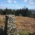 Trig point on High Blind How