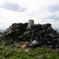 Trig Point and Summit Cairn