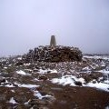 Trig Point on summit of Ben MacDhui