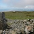 Trig point on Black Combe