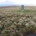 Steele's Knowe Trig point S6166