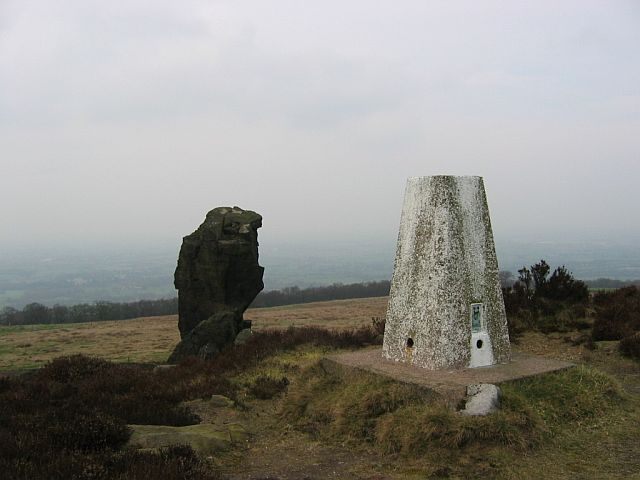 Mow Cop - Trig Point - Staffordshire