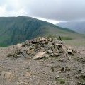 Pile of stones on Red Pike
