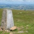 Trigpoint on Tinto