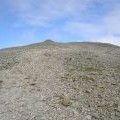 The approach to Carnedd Dafydd 1st Cairn